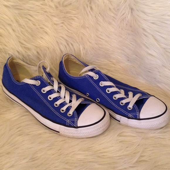 Stars Royal Blue Low Top Shoes | Poshmark